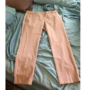 H&M Tan career Work Pants so 14